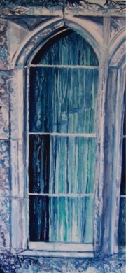 Title : Windows with Blue Reflection II