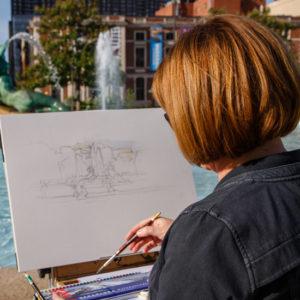 Monica Jones Artist About